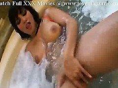 Sunny Leone Bath Time