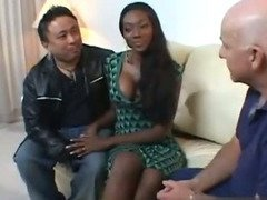 Nyomi Banxxx is a beautiful ebony wife whose going