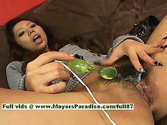 Misa Tsuchiya teen Chinese girl gets full of cum while she is toying