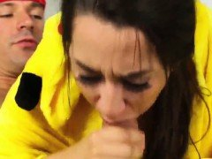 Teen playfellow's daughter scissors with step mom and big ti