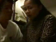 3 black men take japanese mother and daughter